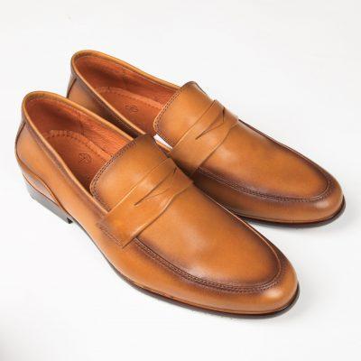 10 a 2 giày da thật, giày da nam FTT leather
