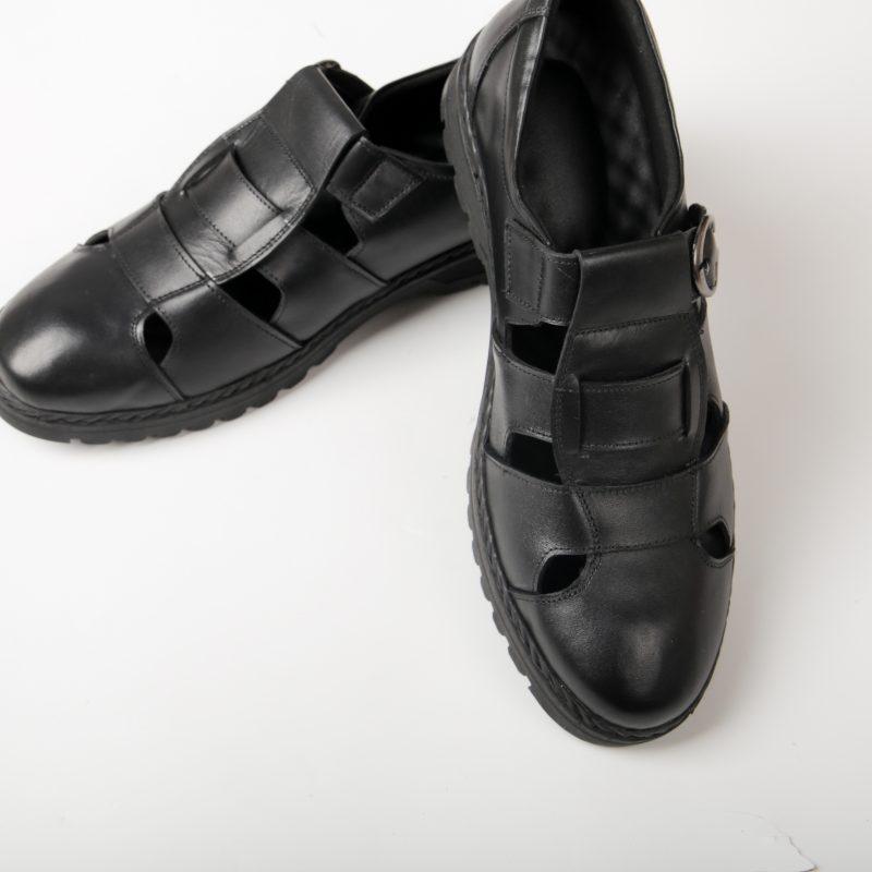 12 d 1 giày da thật, giày da nam FTT leather