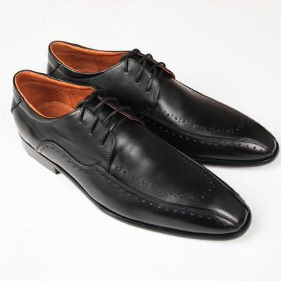 13 a 3 giày da thật, giày da nam FTT leather
