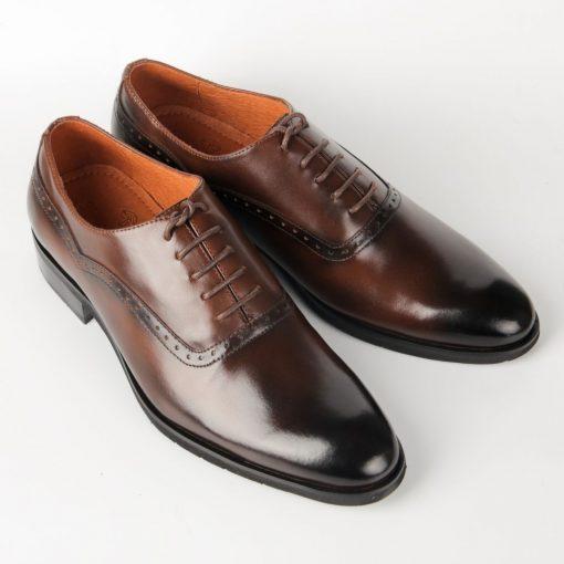 IMG 7155 giày da thật, giày da nam FTT leather