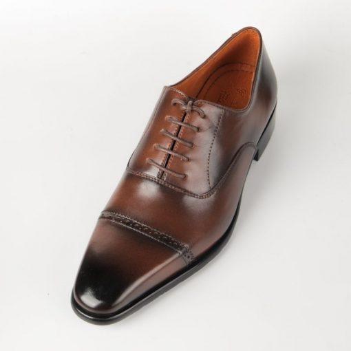 IMG 7158 giày da thật, giày da nam FTT leather