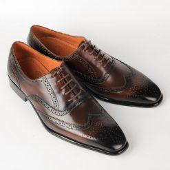IMG 7170 giày da thật, giày da nam FTT leather