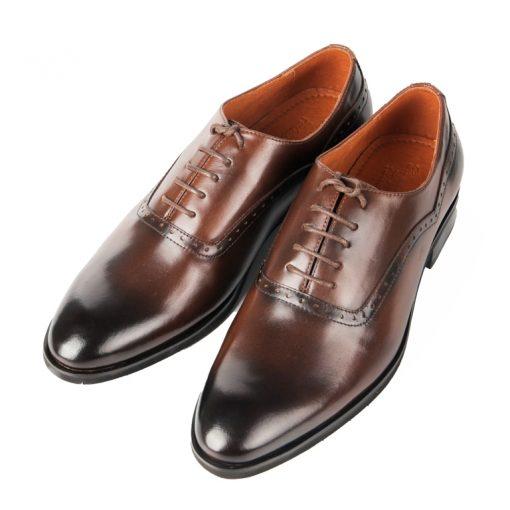 T12 giày da thật, giày da nam FTT leather