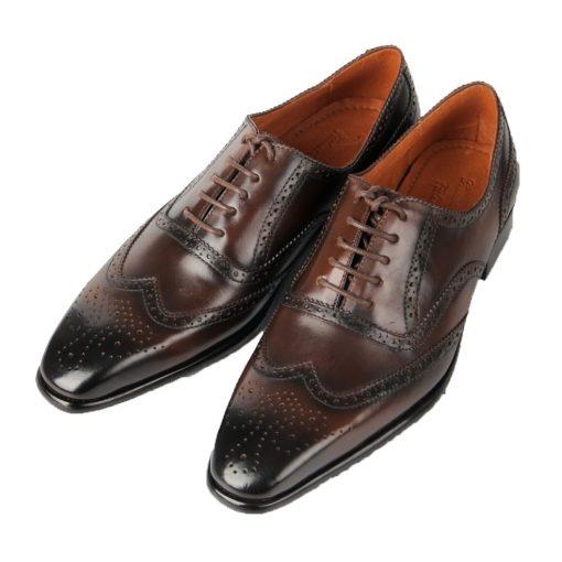 T15 giày da thật, giày da nam FTT leather