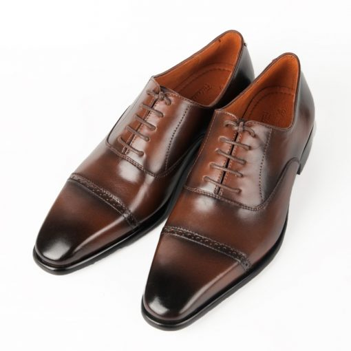 T17 giày da thật, giày da nam FTT leather