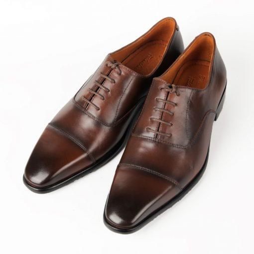 T18 giày da thật, giày da nam FTT leather