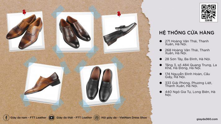 278352 P5TW6E 8339 giày da thật, giày da nam FTT leather