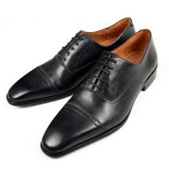 T14 giày da thật, giày da nam FTT leather