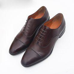 Giay da nam 9451 giày da thật, giày da nam FTT leather