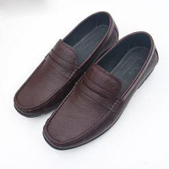 Giay da nam 9453 giày da thật, giày da nam FTT leather