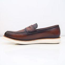 Giay da nam 9470 giày da thật, giày da nam FTT leather