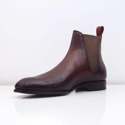 Giay da nam 9490 giày da thật, giày da nam FTT leather